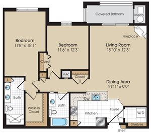 La Marchand III Floorplan at The Marque at Heritage Hunt