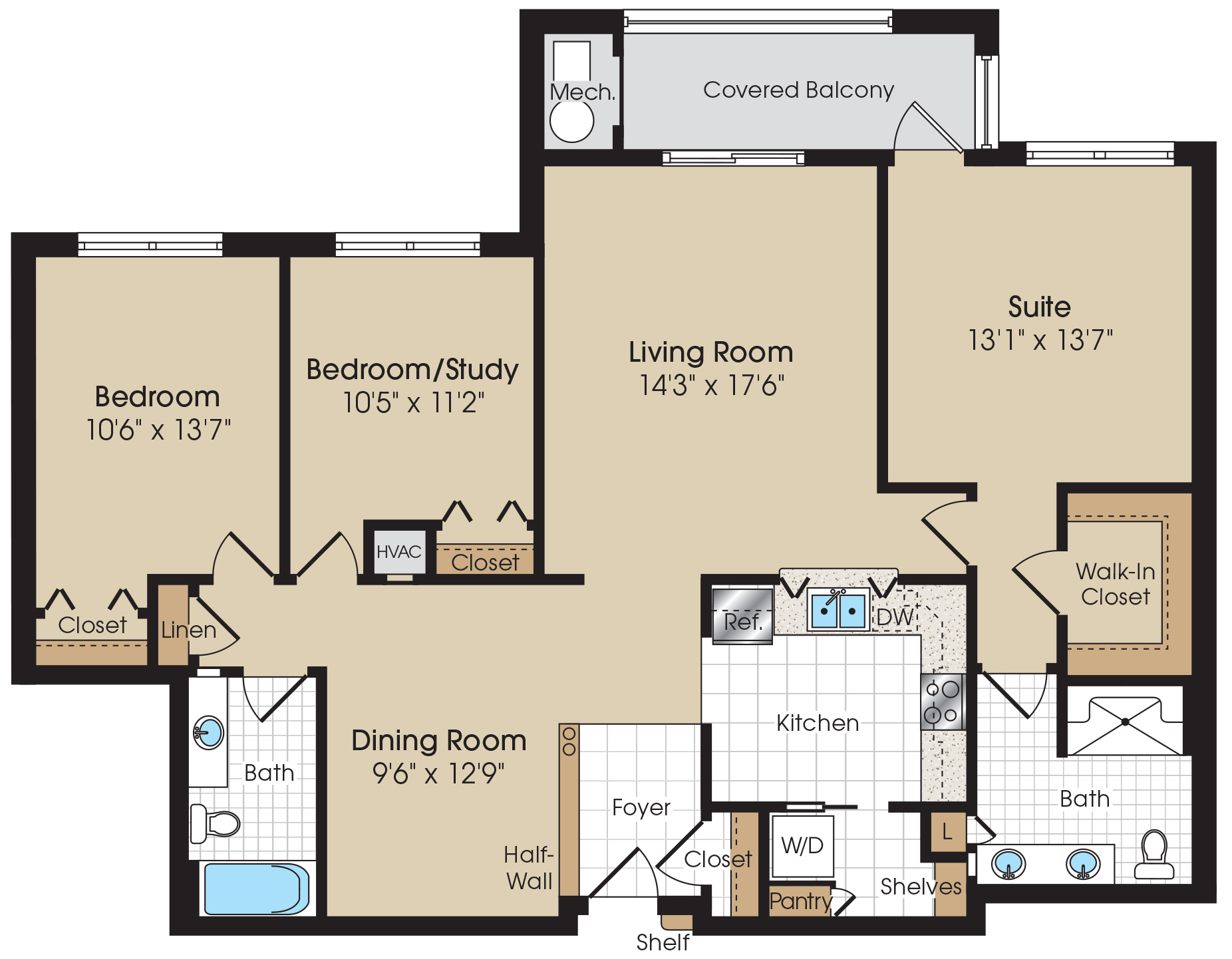 Viceroy Floorplan at The Marque at Heritage Hunt