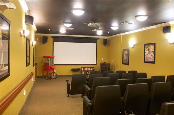 Movie theatre at The Marque at Heritage Hunt, Gainesville, VA,20155