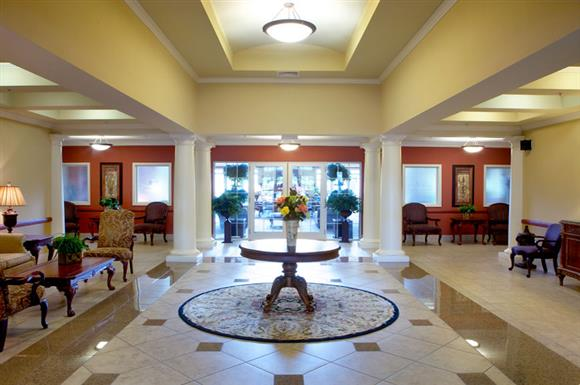 Clubroom Entry at The Marque at Heritage Hunt, Gainesville, VA,20155