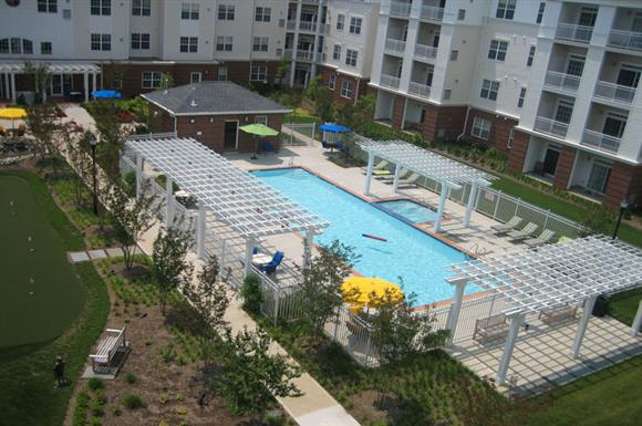 Swimming Pool with Sundeck at The Marque at Heritage Hunt, Gainesville, VA,20155
