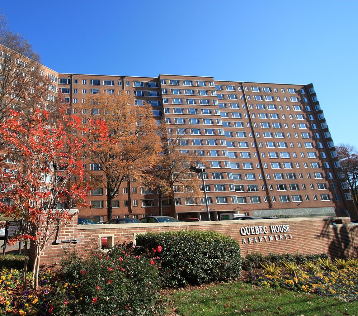 Apartments in Cleveland Park Washington DC Quebec House