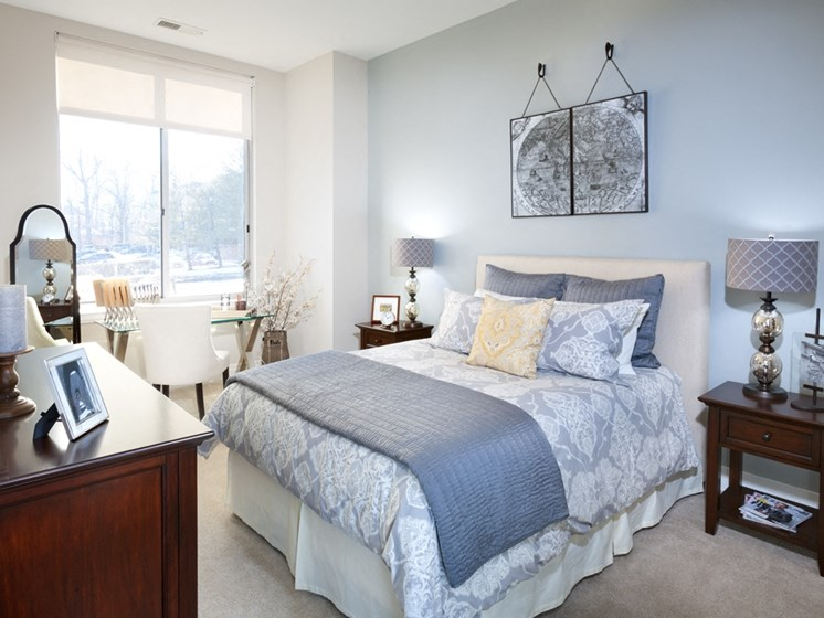 Bedrooms With Beautiful Window Views at Harrison at Reston Town Center, Reston, VA, 20190