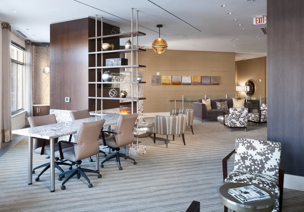 Resident Lounge at Harrison at Reston Town Center, Reston, VA, 20190
