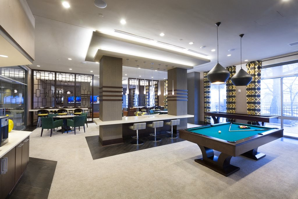 Billiards Table at Harrison at Reston Town Center, Reston, VA, 20190