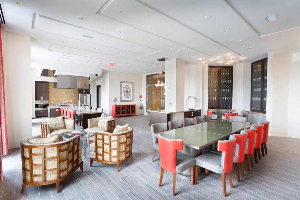 Community Lounge at Harrison at Reston Town Center, Reston, VA, 20190