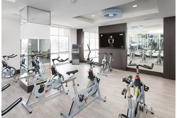 Spinning Classes and Group Fitness at Harrison at Reston Town Center, Reston, VA, 20190