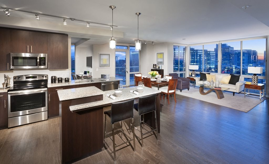 Open Floor Plans at Harrison at Reston Town Center, Reston, VA, 20190