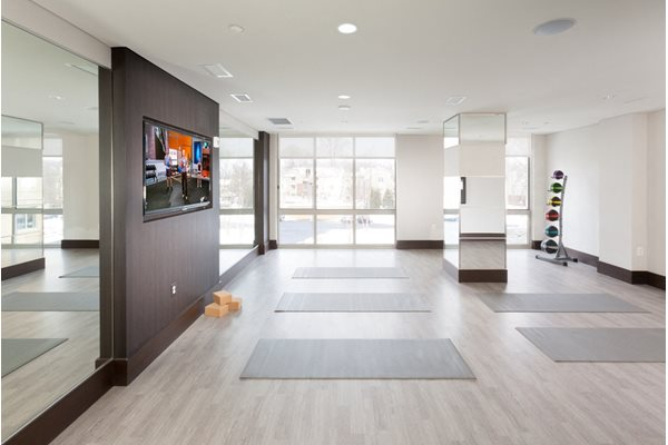 Yoga Room at Harrison at Reston Town Center, Reston, VA, 20190