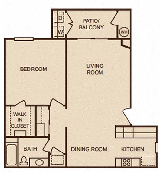 Solana Ridge Apartments: Floor Plans Of TRACY PARK In Tracy, CA
