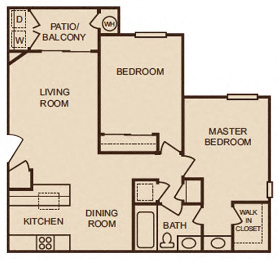 Floor Plans Of TRACY PARK In Tracy, CA