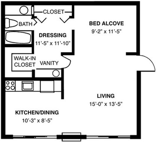 Augusta - Furnished Floor Plan 2