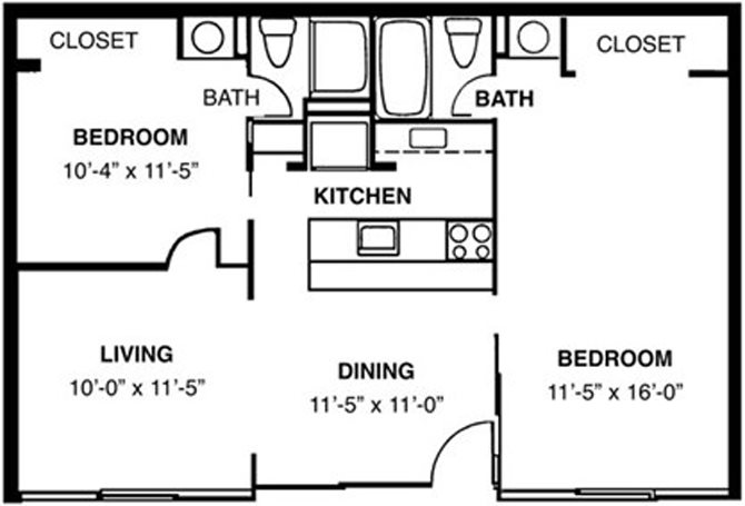 St. Andrews - Furnished Floor Plan 4