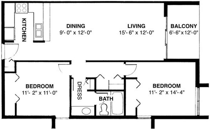 Saffron Floor Plan 3