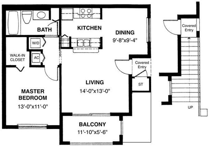 Antibes Floor Plan 1