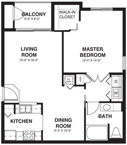 Regent Floor Plan 1