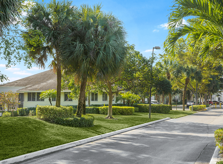 Blue Isle apartments leasing center in Coconut Creek, Florida