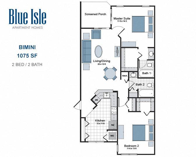Bimini two bedroom apartment for rent