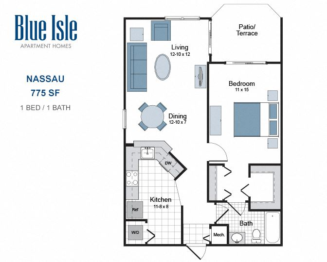 Nassau one bedroom apartment for rent