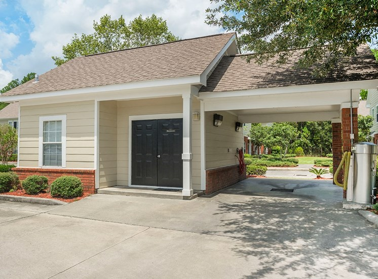 Greenbrier Estates apartments car care center in Slidell, Louisiana