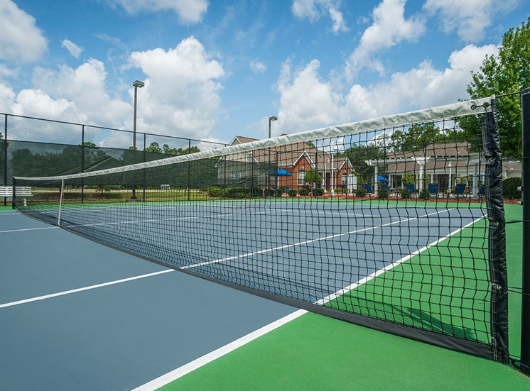 Greenbrier Estates apartments tennis court in Slidell, Louisiana