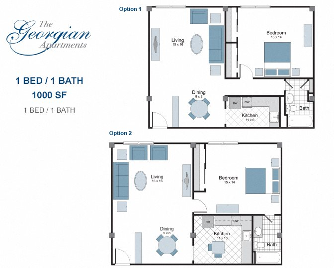 One And Two Bedroom Apartments In New Orleans