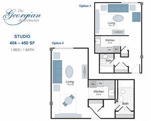 Studio apartment for rent