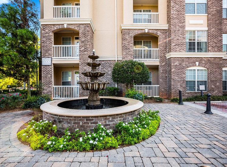 European-style courtyards at The Savoy in Atlanta