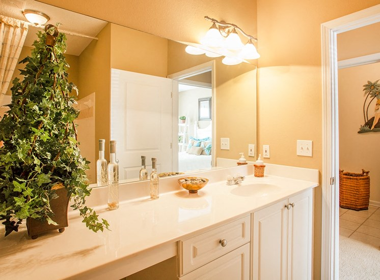 Barrett Walk model suite bathroom in Kennesaw, GA