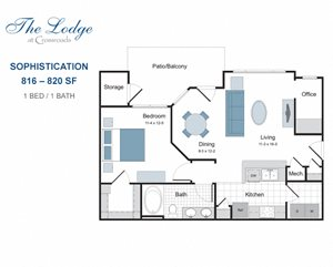 Sophistication one bedroom apartment for rent