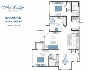 Eloquence two bedroom apartment for rent