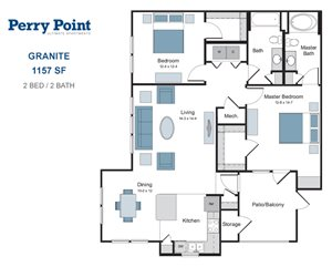 Granite two bedroom apartment for rent