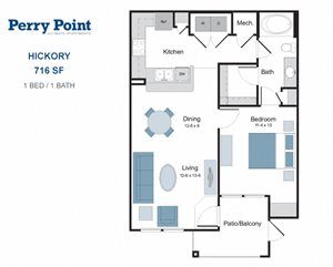 Hickory one bedroom apartment for rent