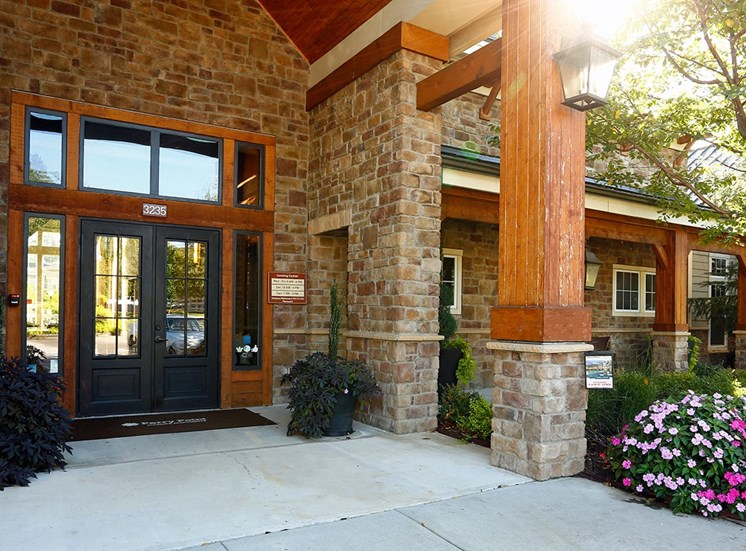 Perry Point apartments leasing center in Raleigh, North Carolina