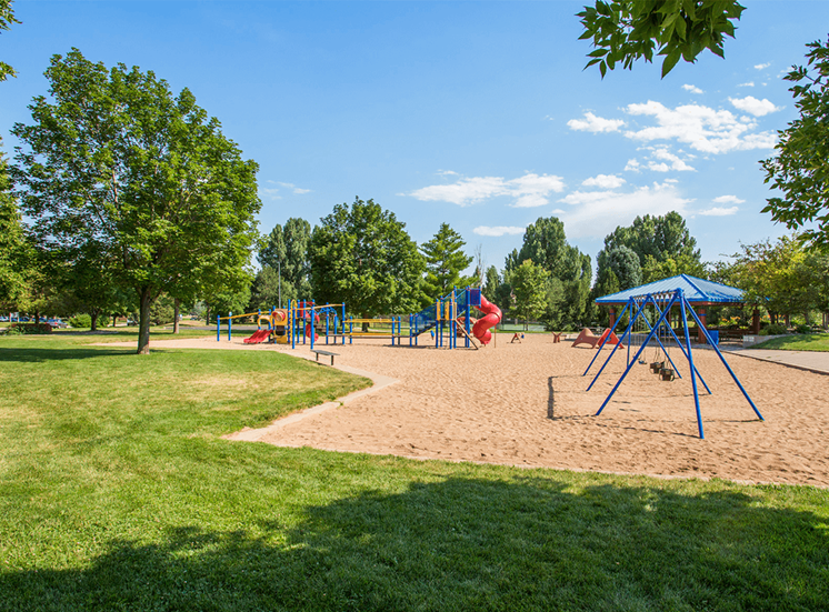 Settlers' Creek apartments playground in Fort Collins, Colorado
