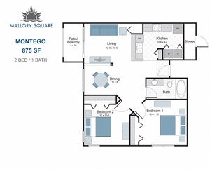Montego two bedroom apartment for rent