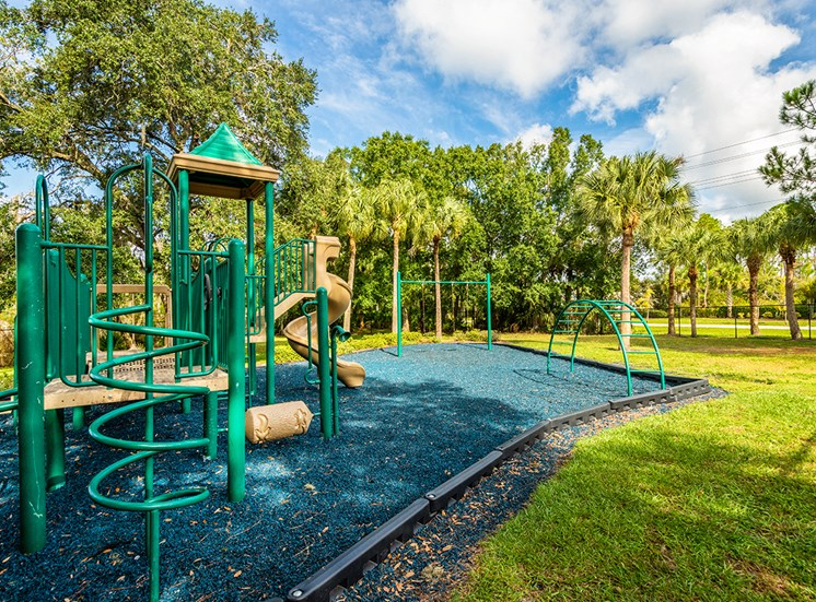 Mallory Square apartments playground in Tampa, Florida