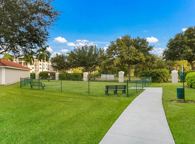 210 Watermark apartments dog park in Bradenton, Florida