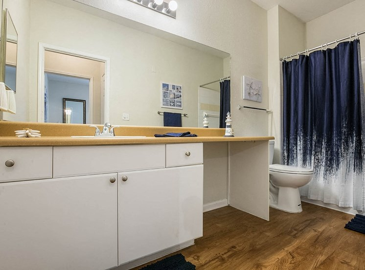 210 Watermark model suite bathroom in Bradenton, Florida
