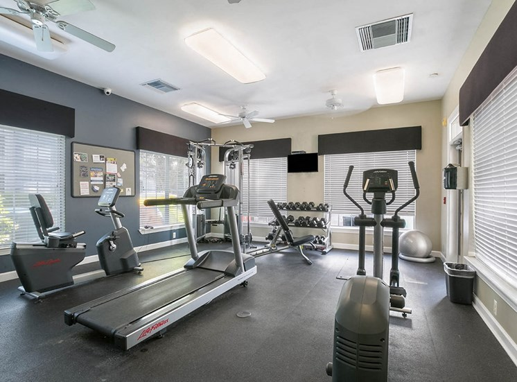 210 Watermark apartments fitness center in Bradenton, Florida