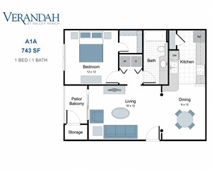 Verandah at Valley Ranch Apartments, 8600 Valley Ranch Parkway ...