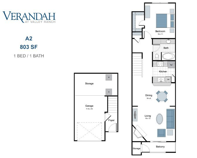 Verandah at Valley Ranch | One, Two and Three Bedroom Apartments and ...