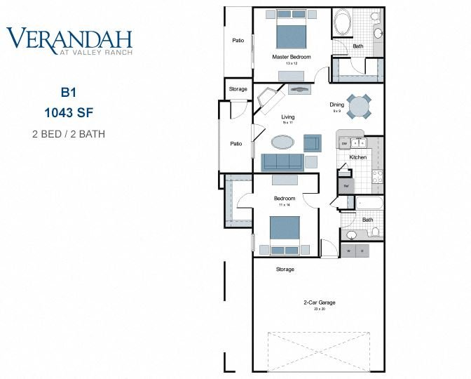 B1 two bedroom apartment for rent