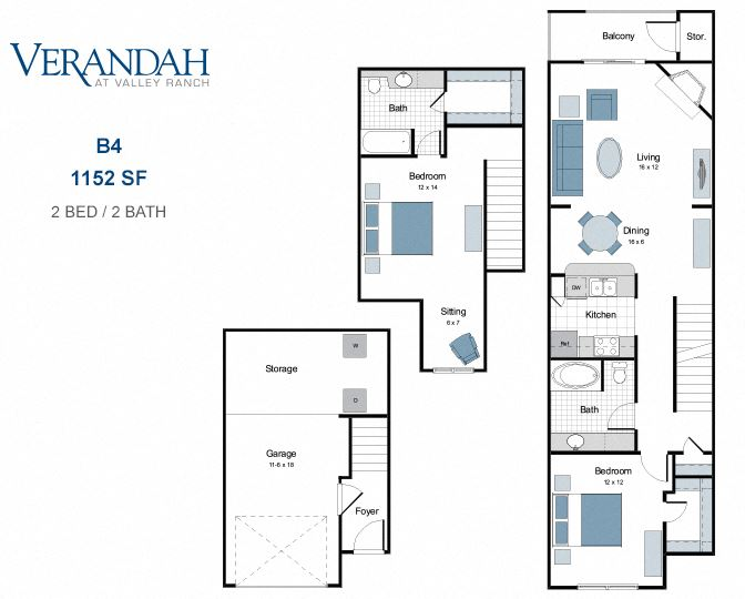 B4 two bedroom town home for rent