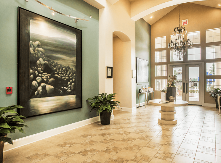 Grand Venetian apartments leasing center in Irving, Texas