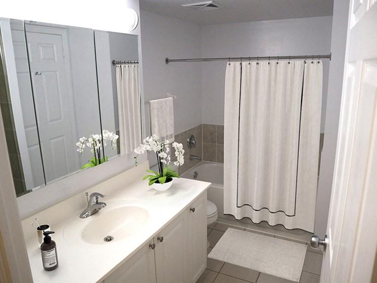 The Bay Club renovated bathroom 1