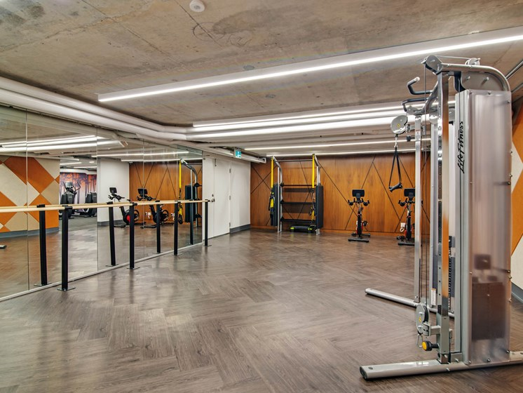 Fully Equipped Fitness Centre with Yoga Studio Space