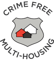 Square 104 is a Crime Free Multi-Housing Property