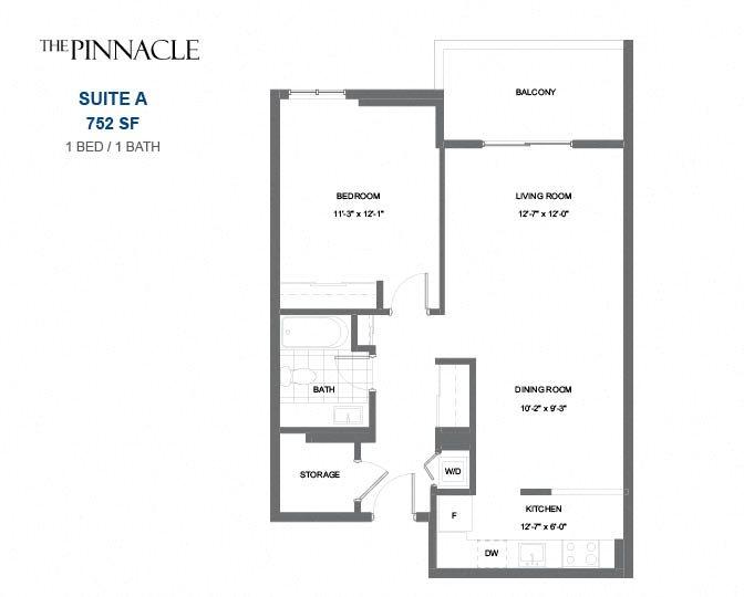 The Pinnacle Apartment Floor Plans