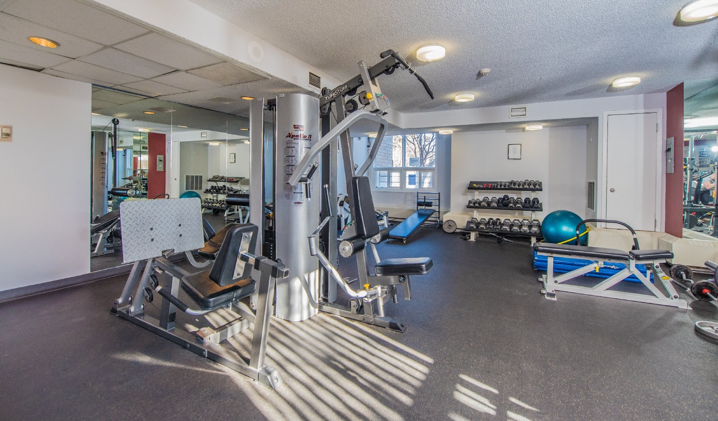 Large Updated Fitness Centre With Weights & Cardio Equipment